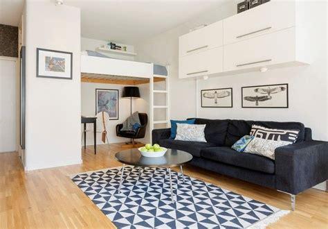 Studenten Einzimmerwohnung Einrichten by Kleine Einzimmerwohnung Mit Hochbett F 252 R Erwachsene