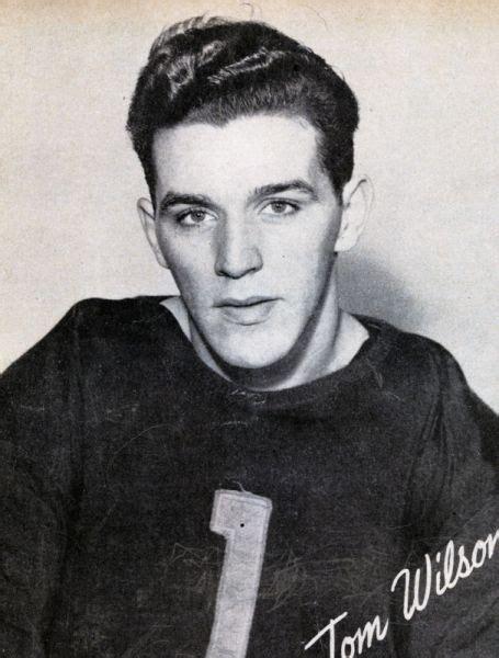 Tom Wilson (b.1921) Hockey Stats and Profile at hockeydb.com