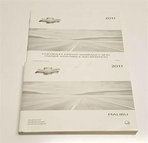 2011 Chevrolet Malibu Owners Manual User Guide V6 3 6 V4 2