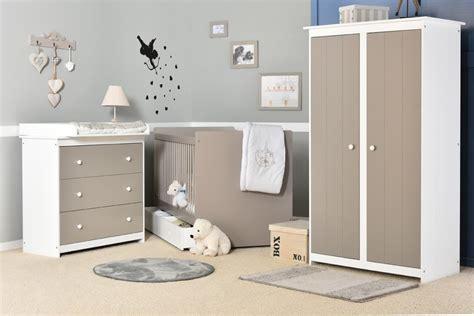 chambre bb gris et blanc decoration chambre bebe gris