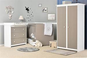 Chambre bb gris et blanc chambre bebe gris bleu blanc for Chambre taupe et blanc