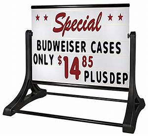 48 x 36 sign board outdoor sign with letter kit for Outdoor letter board signs
