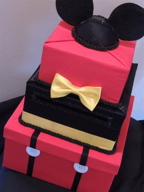 mickey mouse card box mickey mouse party