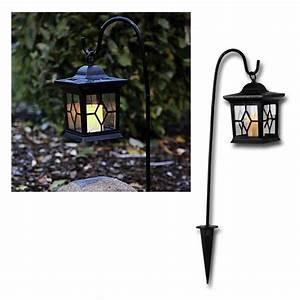 Led Laterne Garten : led laterne mit solar kerze flackernd 58cm hoch ~ Whattoseeinmadrid.com Haus und Dekorationen