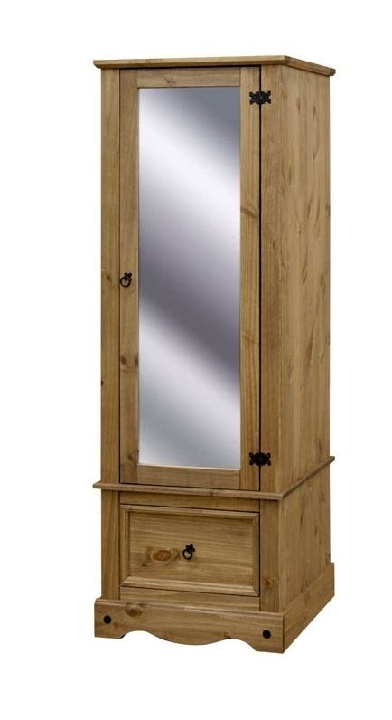 One Door Mirrored Wardrobe by Top 15 Of Single Door Mirrored Wardrobes