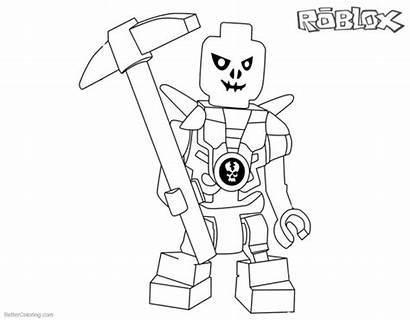 Roblox Coloring Ninjago Printable Lego Characters Kolorowanki
