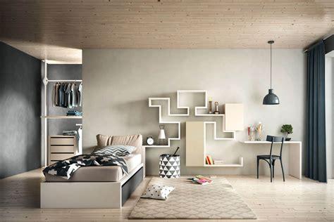camere da letto con scrivania un letto per ragazzi nella cameretta dei sogni lago design