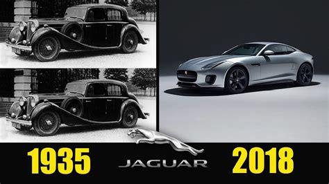 Jaguar Evolution  From 1935  2018  Jaguar Car History