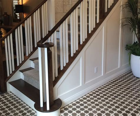 Wooden And Metal Stair Railing Ideas