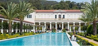 Getty Villa Angeles Los Museum California Map
