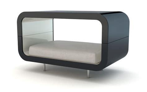 canap lit pour chien canapé lit en bois laqué pour chien et suite