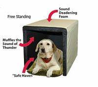 Two crate type products on the market utilize the concept for How to soundproof a dog kennel