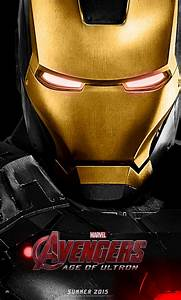 The Avengers Age Of Ultron Poster Black Iron Man by ...