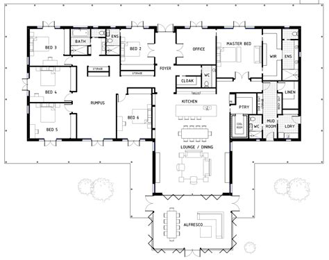 6 bedroom house plans 17 best 6 bedroom house floor plans house plans 43867