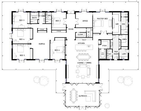 six bedroom floor plans floor plan friday 6 bedrooms