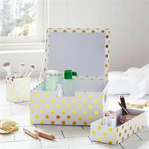 Rangement De Maquillage : le rangement maquillage en quelques id es cr atives ~ Melissatoandfro.com Idées de Décoration