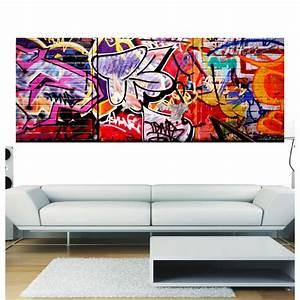 Papier Peint Sticker : papier peint panoramique tag art d co stickers ~ Premium-room.com Idées de Décoration