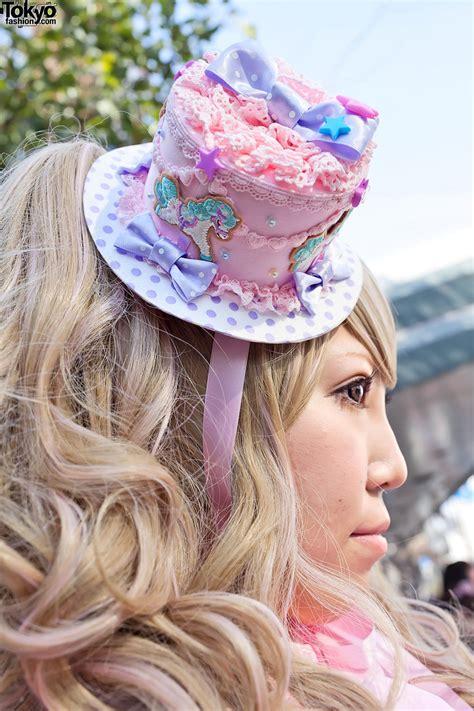 Sweet Lolita In Angelic Pretty At Harajuku Station Tokyo