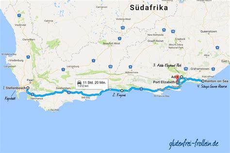garden route suedafrika karte hanzeontwerpfabriek