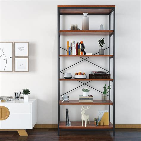 cheap 5 shelf bookcase modrine 5 shelf bookcase best cheap bookshelves