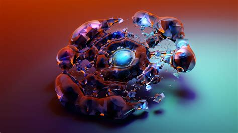 3d Hd Wallpapers by Wallpaper Glass 3d Hd Abstract 16363