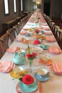 How To Lay The Table For Afternoon Tea