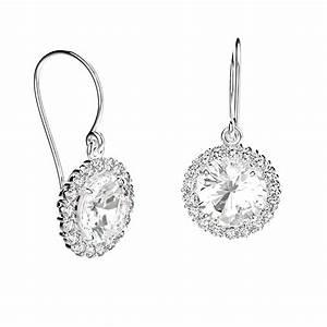 Boite A Boucle D Oreille : gemmyo boucles d 39 oreilles york argent quartz et diamant ~ Teatrodelosmanantiales.com Idées de Décoration