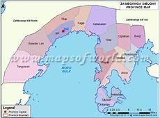 Zamboanga Sibugay Map Map of Zamboanga Sibugay Province