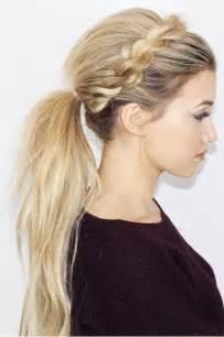 Ponytail Ball Hairstyles