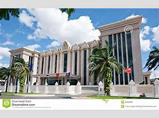 The Peace Palace In Phnom Penh, Cambodia Stock Photo