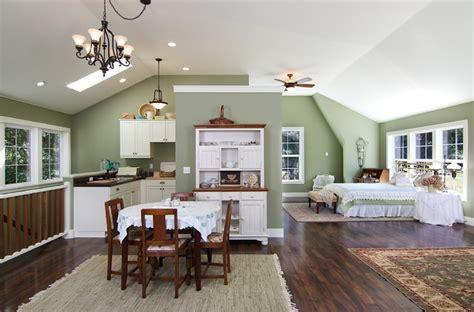 barn studio  loft traditional kitchen