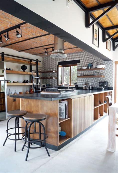 cuisines style industriel cuisine style industriel bois