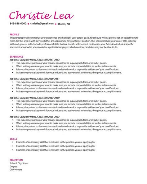 curated cv template 37 curated resume writing and design ideas by cfarina16