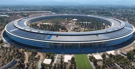 Apples Headquarters New Pictures by Apple Hq2 Not Quite But The Tech Has Plans For A