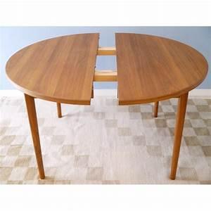 Tables Rondes Extensibles : table ronde extensible design scandinave ~ Teatrodelosmanantiales.com Idées de Décoration