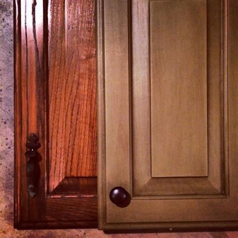 rust oleum cabinet transformation    oak