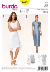burda printemps ete 2016 patron de robe burda 6643 With patron robe été