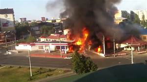 Gas Station Explosion In Russia