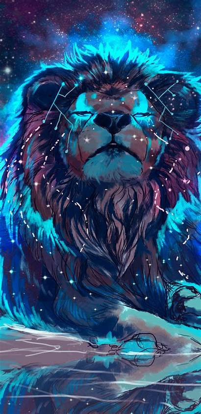 Lion Colorful 4k Wallpapers Lf Artistic Wallpaperplay