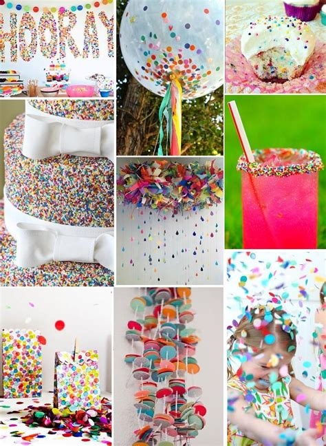 baby sprinkle decorations confetti beyond usual rainbow ideas
