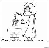 Evil Santa Dynamite Stick Coloring Offer Adults sketch template
