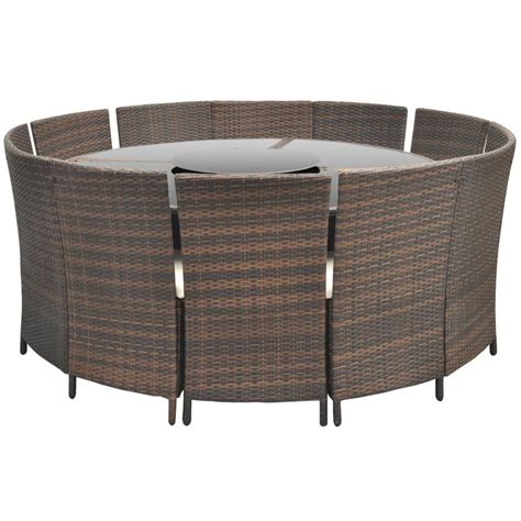 table ronde gamme tic 120 best table jardin ronde resine tressee images amazing