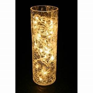 Fairy Lights In Hurricane Vase A Easy Holiday Decoration Lights In A Vase Vase With