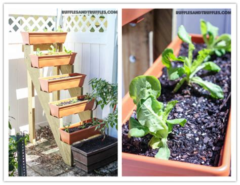 how to build a diy vertical herb garden planter how to
