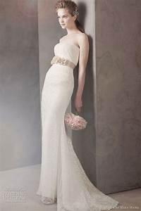 white by vera wang fall 2011 wedding dresses wedding With vera wang lace wedding dress