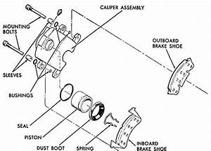 frozen calipers cause customer concern vf auto With brake pads diagram