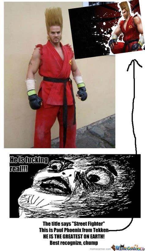 Street Fighter Meme - rmx street fighter he is real by recyclebin meme center