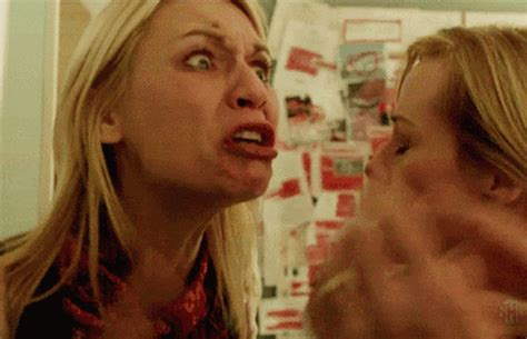 Claire Danes Cry Face Meme - claire danes doesn t care about homeland carrie cry face meme screener