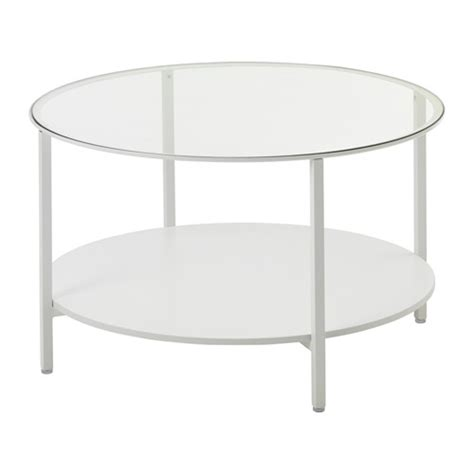ikea white coffee table vittsjö coffee table white glass ikea