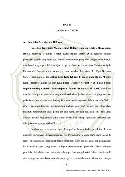 jenis makna kata  bahasa indonesia
